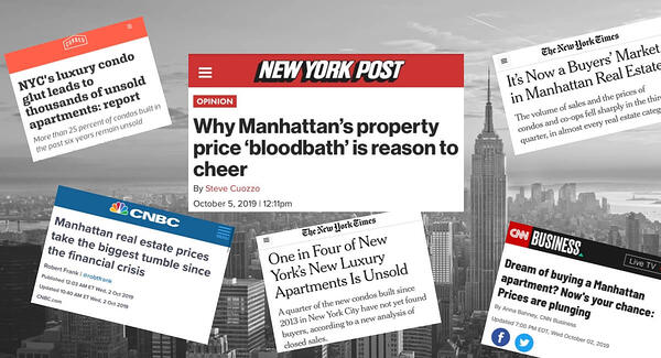 Manhattan Condo Prices Market Slowdown