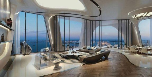 Zaha Hadid マイアミの高級ビル